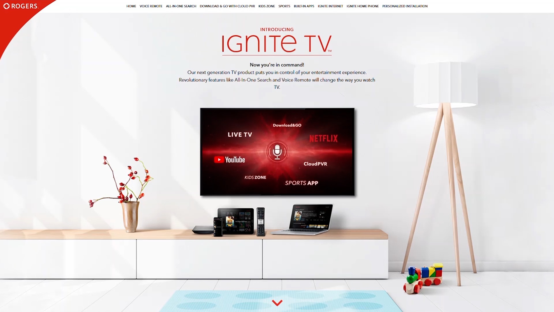 Ignite TV Demo